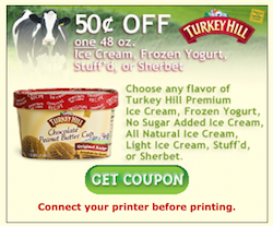 turkey hill ice cream coupon