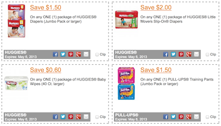 Huggies Coupons