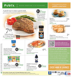 Publix Coupon Match Ups 5/8 - 5/14