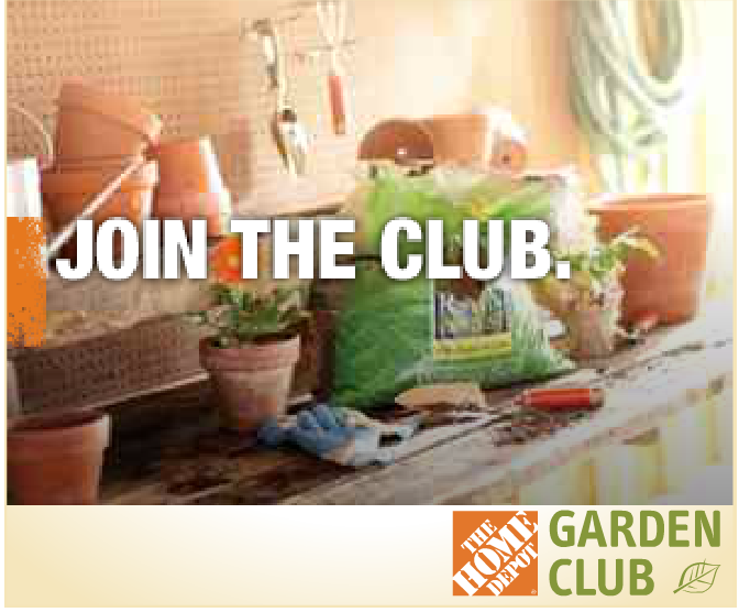 Home Depot Garden Club Coupons Sign Up For The Garden