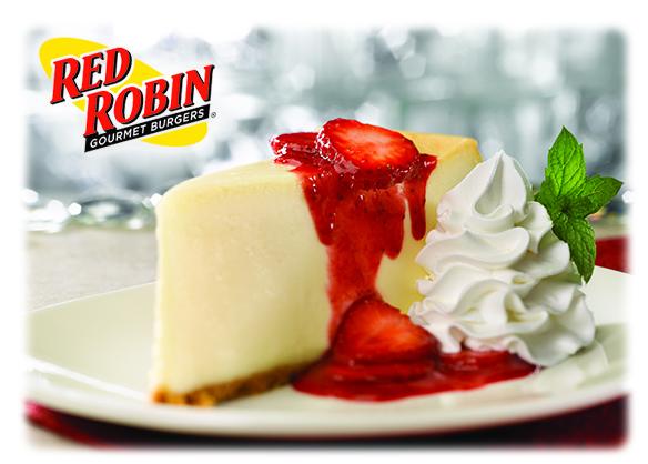 Red Robin Spring Menu giveaway
