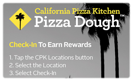 CPK Pizza Dough Giveaway