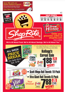 ShopRite Coupon Match Ups 5/12 - 5/18
