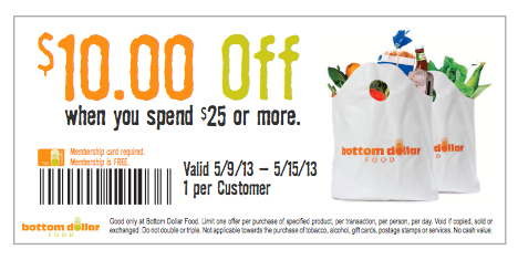 Bottom Dollar Coupon