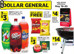 Dollar General Coupon Match Ups