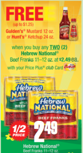 Hebrew National Coupon