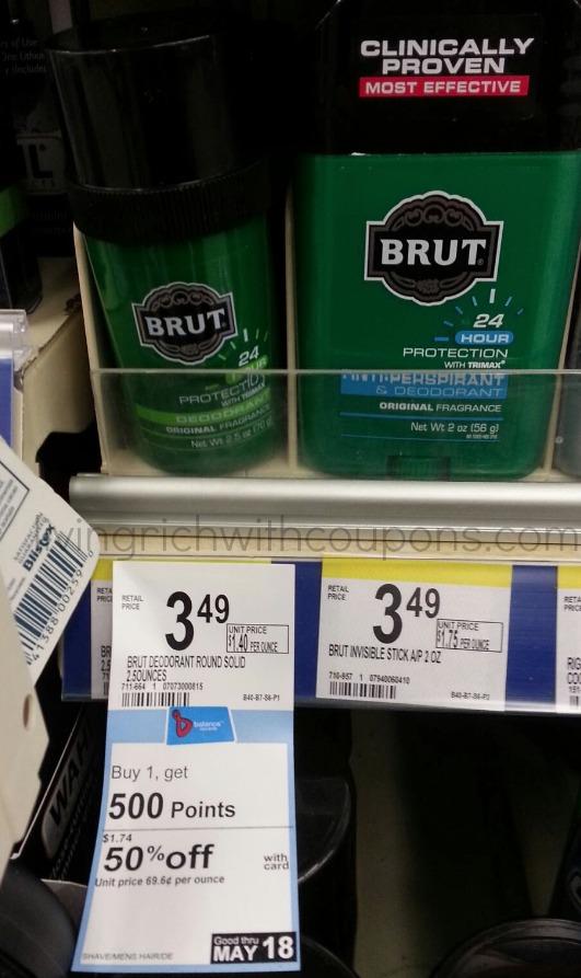 Brut Deodorant Coupon