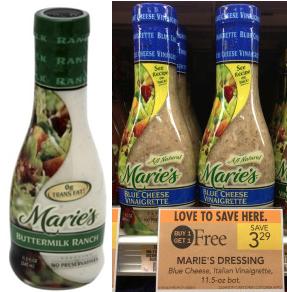 Maries Dressing Coupon