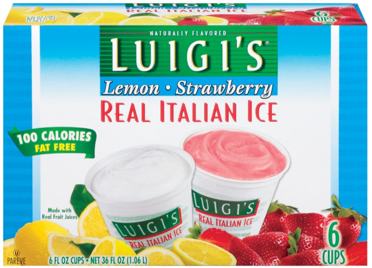 Luigis Italian Ice Coupon