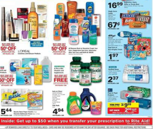 Rite Aid Coupon Deals