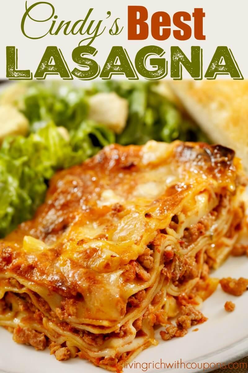 Best Lasagne Recipe — Dishmaps