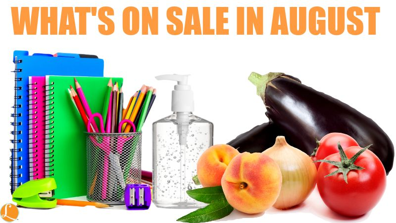 What S On Sale In August 2015 Food Sales Clearance