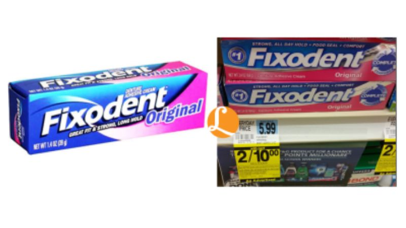 graphic about Fixodent Coupons Printable identified as Fixodent Adhesive Exactly $1.50 at Ceremony Assist! 75% OffLiving