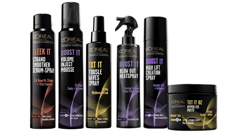 FREE L\u002639;Oreal Advanced Hair Care Styling Products at Target
