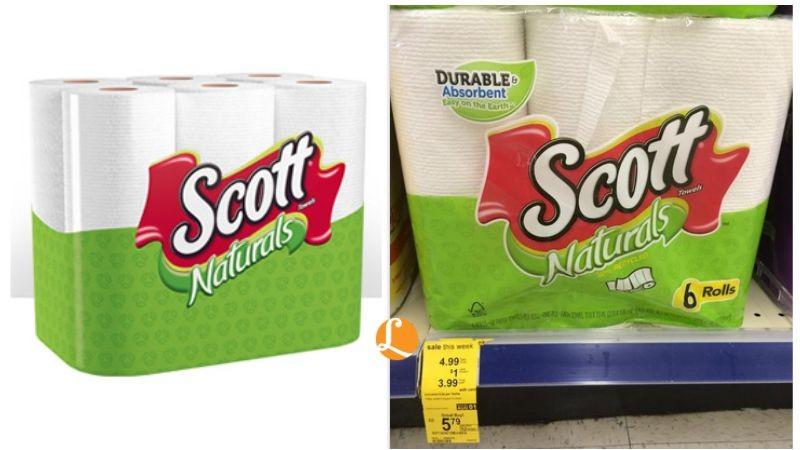 scott naturals Walgreens