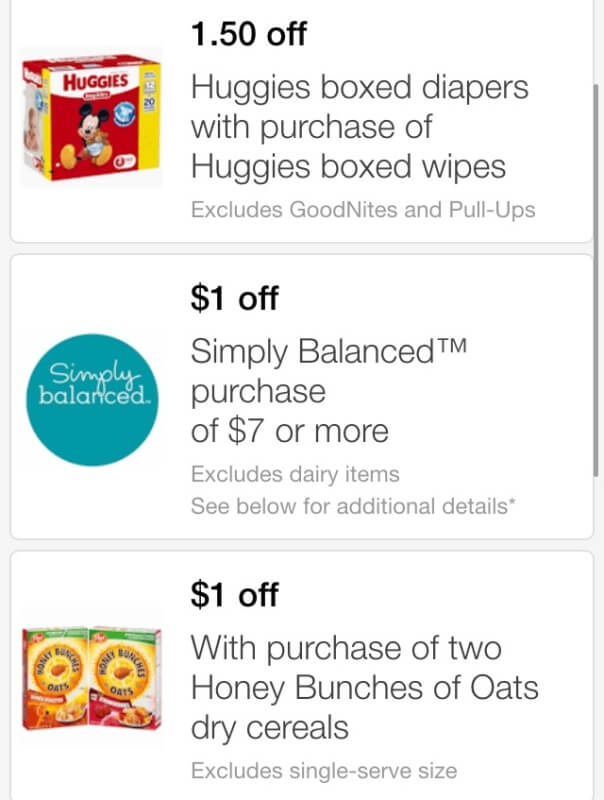 Mobile coupons for huggies diapers