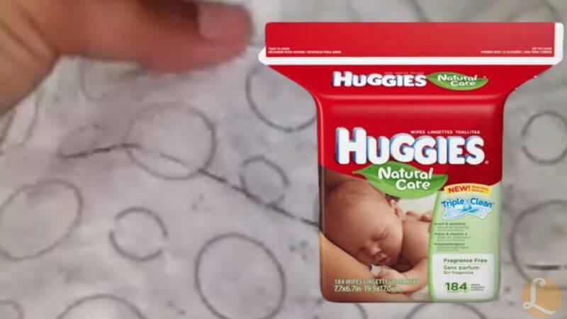 Huggies Baby Wipes Glass