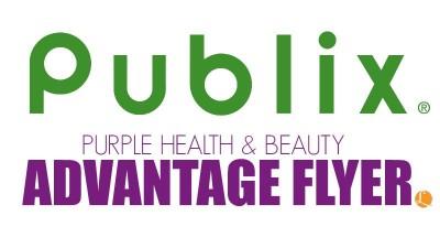 Publix Purple Health & Beauty Advantage Flyer