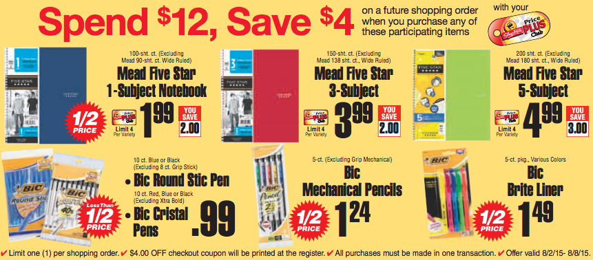 Electronic coupons for target