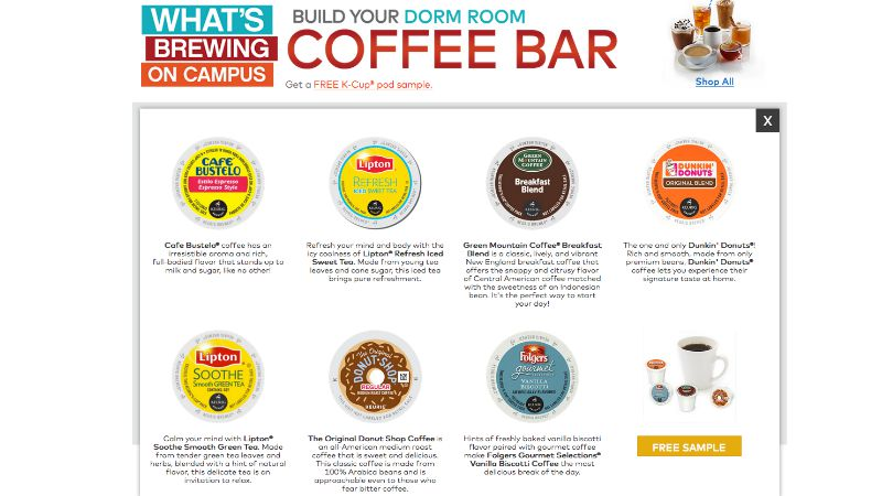 FREE K-Cup Pod Sample Pack |--Living Rich With Coupons®Living Rich ...