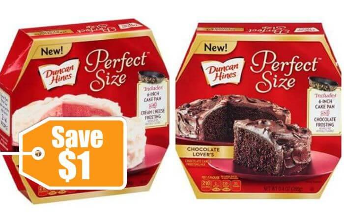 Duncan hines cake mix coupons
