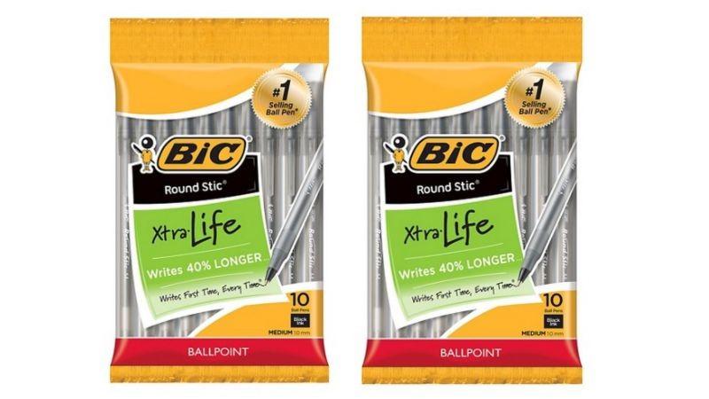 Bic pen coupons
