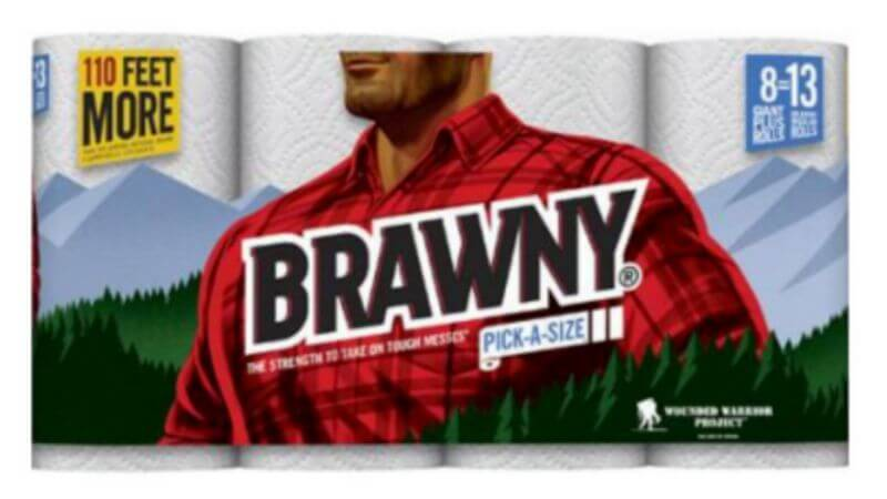 New 1 1 Brawny Paper Towels Coupon Walmart Dealliving