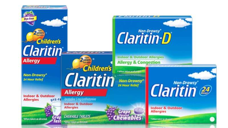 photograph regarding Claritin Printable Coupon named 4 Refreshing Claritin Coupon codes - Preserve Up Towards $17 + Bargains at Walmart