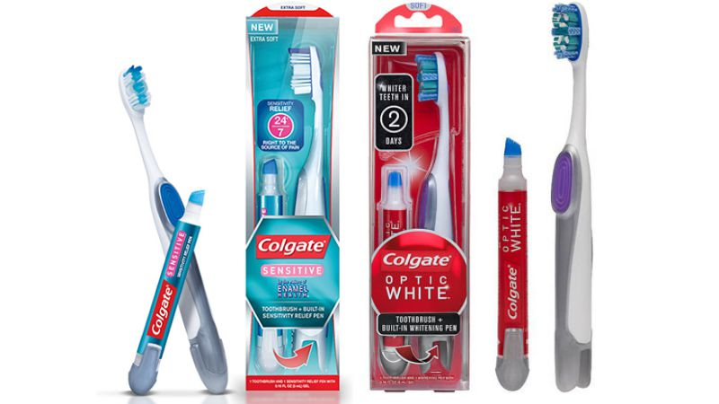 Colgate also delivers great refreshing taste and extra whitening ingredients to keep your healthy teeth beautiful, too! Get Colgate products at discounted prices using our Colgate coupons. Adults use Colgate because it's a trusted brand that helps combat bad breath and cavities.