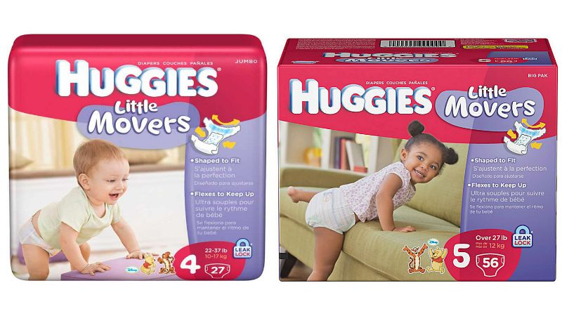 Coupon huggies little movers