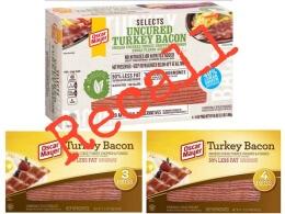 oscar mayer bacon recall