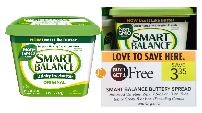 Little Improvement in Smart Balance Ingredients. First, the GMO soybean oil has been removed. While this is a positive, unfortunately GMO canola oil is still in there as the primary vegetable oil. Second, pea protein has replaced the whey protein from before. This is .