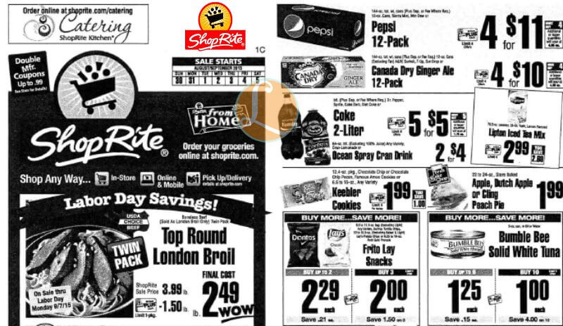 Shoprite Preview Ad For The Week Of 8 30 15living Rich