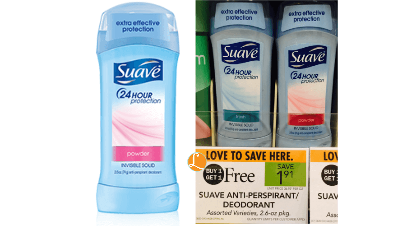 Save $ on Suave shampoo, deodorant and body wash using our Coupons. Find the lowest prices on Suave products at Target, Walgreens, Kroger and CVS. Save $ on Suave shampoo, deodorant and body wash using our Coupons. Find the lowest prices on Suave products at Target, Walgreens, Kroger and CVS.