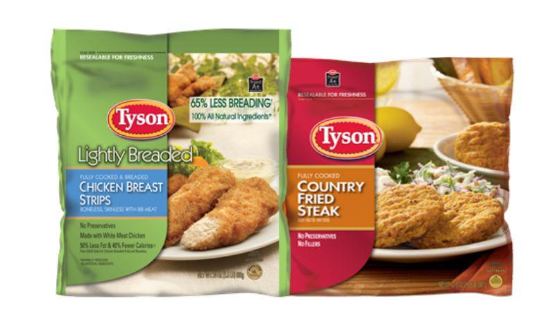 New $1/1 Tyson Breaded Frozen Chicken Coupon + Great Deals ...