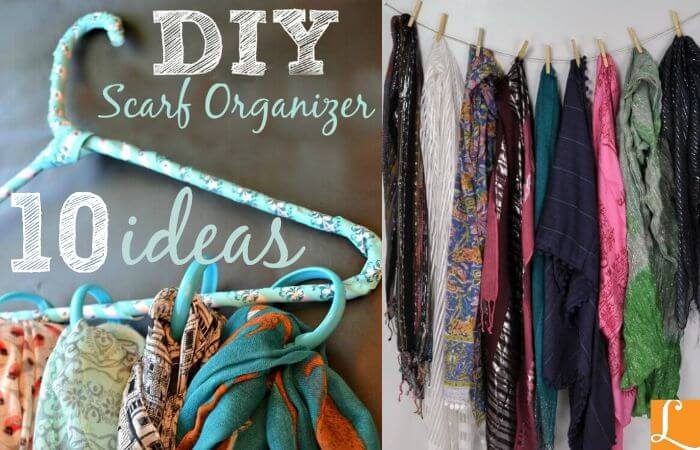 10 awesome ways to organize your scarvesliving rich with