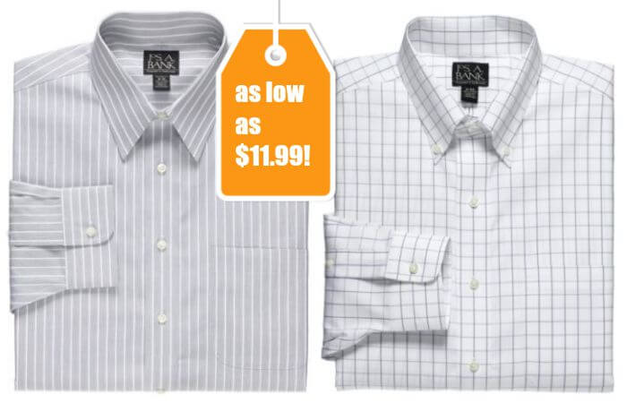 Jos a bank dress shirts as low as up to 83 off for Joseph banks dress shirts