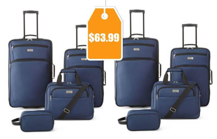 Protocol Roman 4 Pc Luggage Set 63 99 Reg 160 00
