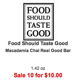 Food Should Taste Good Bar Coupon