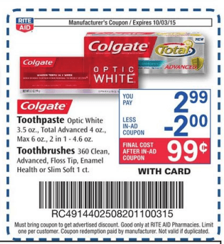 Colgate Optic White Sparkling Mint whitening toothpaste goes beyond surface-stain removal to deeply whiten teeth for a brighter smile. With regular use, this anticavity fluoride toothpaste removes stains beyond the surface to deeply whiten teeth with hydrogen peroxide, unlike ordinary toothpaste and it has a cool fresh mint flavor to help freshen your breath.