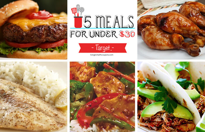 5 Meals for Under $30 at Target