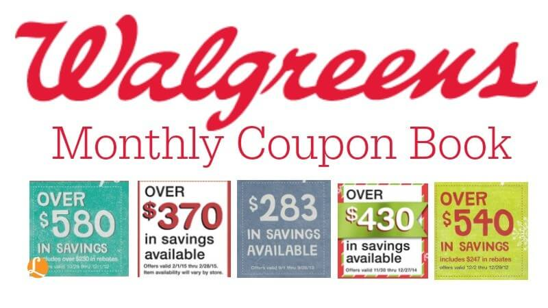 Walgreens Coupon Savings Book September 2017Living Rich With Coupons®