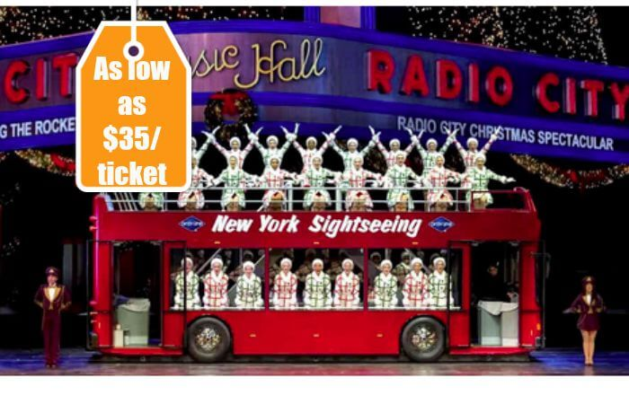Radio City Christmas Spectacular Tickets.The Rockettes In The Radio City Christmas Spectacular As Low