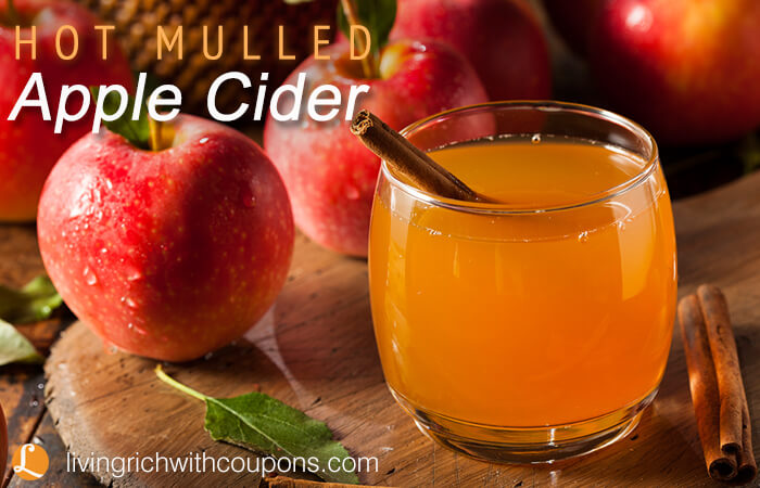 Hot Mulled Apple Cider RecipeLiving Rich With Coupons®