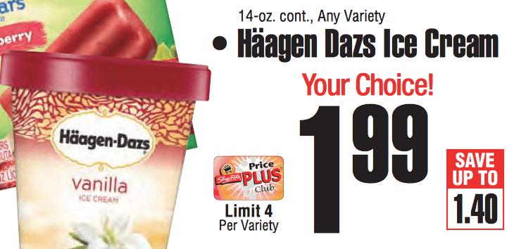 haagen dazs manufacturer coupon