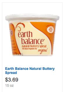 Earth balance butter printable coupon
