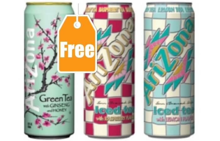 Free coupons for arizona tea