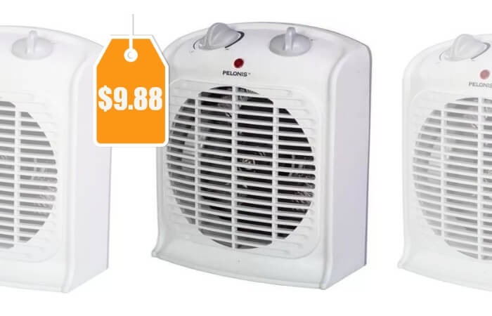 Pelonis Fan-Forced Heater with Thermostat $9.88 (Reg. $20.99)Living ...