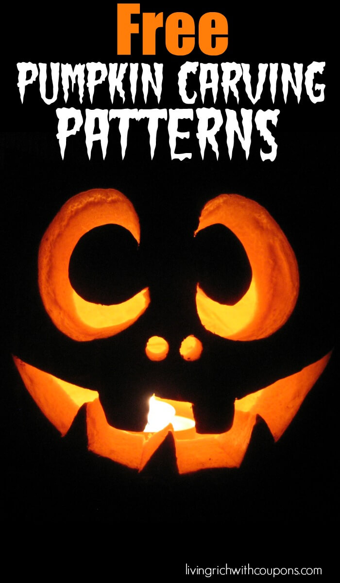 Free pumpkin carving patterns over to choose