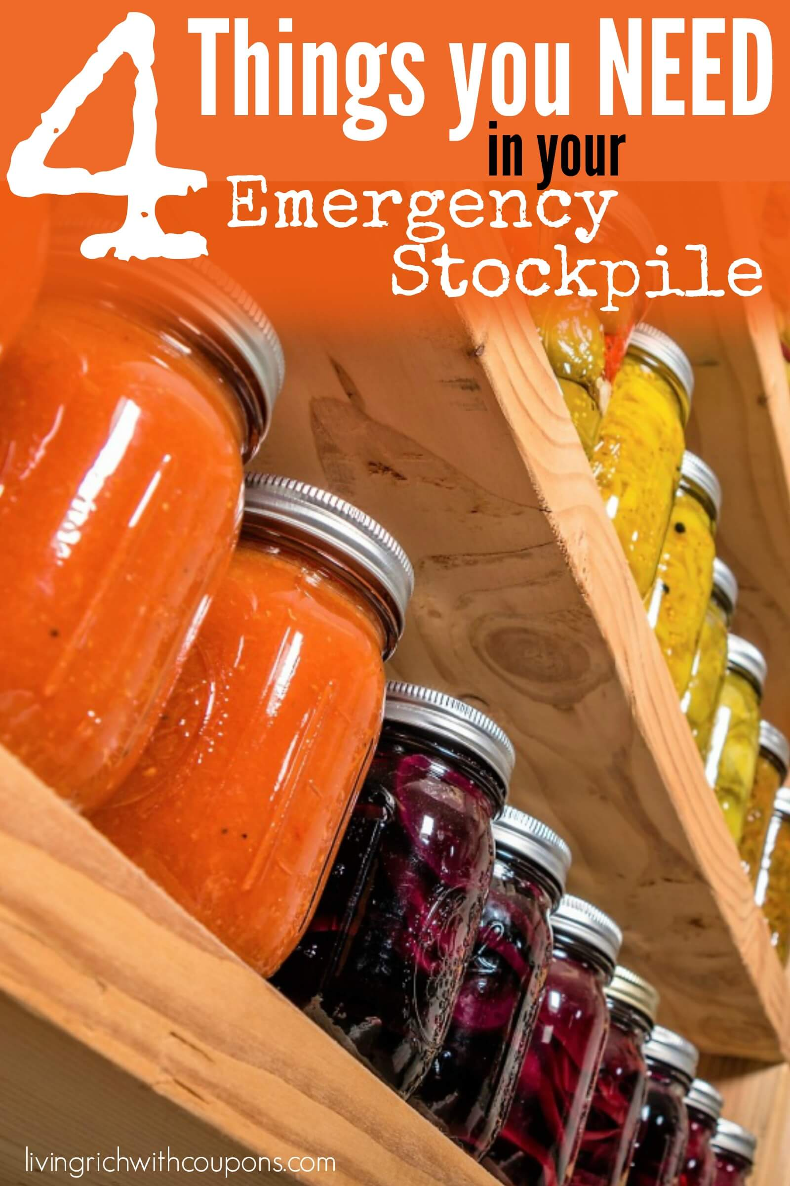 4 things you need in your emergency stockpile
